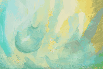 Abstract painted vector background