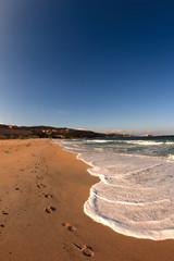 Sardegna: schiuma bianca