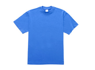 T Shirt Blau