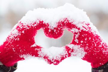 Making heart symbol