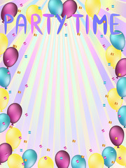 party time words