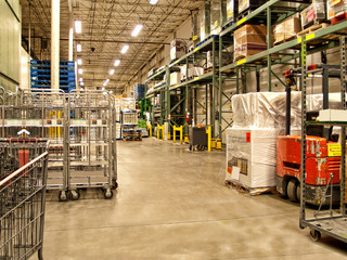 warehouse recieving area
