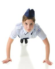 ROTC Girl Pushups