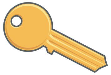Gold key image