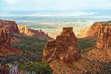 Wall Mural - Colorado Monument Landscape