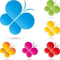Logo, Schmetterling, butterfly, Insekt