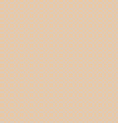 Background of  squares and circles on a beige background