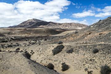 Hacha Grande mountain in Lanzarote near Papagayo beach