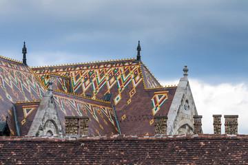Matthias Church in Budapest, Hungary in the center of Buda Castl