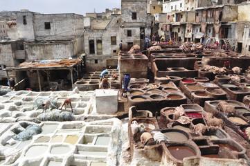 Keuken foto achterwand Marokko Marocco. Concerie di Fes