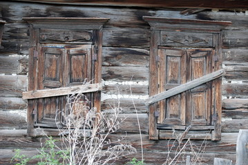 old Windows in Russia