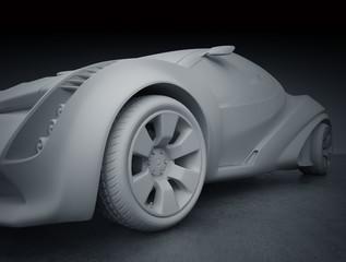 Wall Mural - concept car