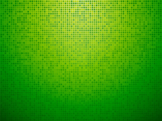 green checkered background with a light vignette