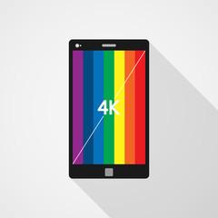 Smartphone 4k