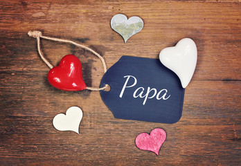 lovely greeting card - father ´s day