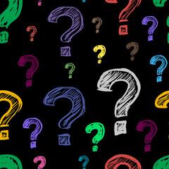 Dark questions