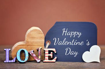 lovely greeting card - valentine ´s day