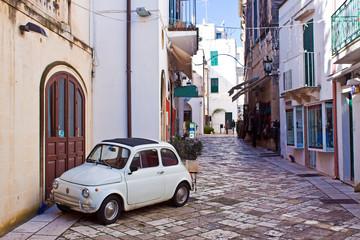 alleyway of Otranto, Italy