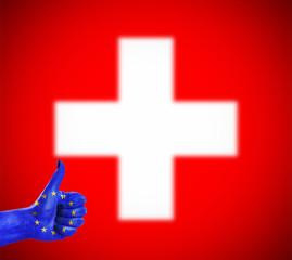 Positive attitude of the European Union for Switzerland