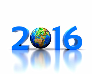 Worldwide..celebrates the New Year - 2016