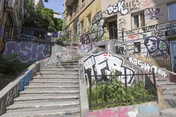 Graffiti in Galata
