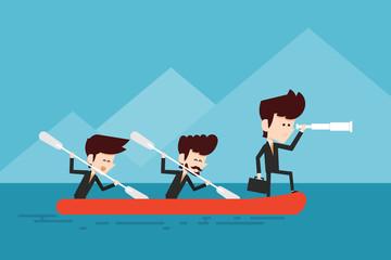 cooperation/ teamwork concept
