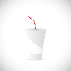 Soda Fountain Drink Illustration