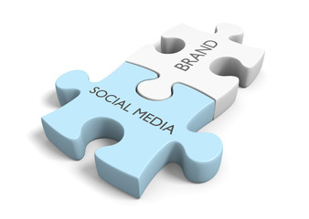 Brand awareness through social media networking connections