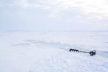 氷の道  canada ice rord