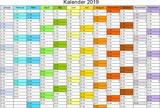 kalender 2019 universal ohne feiertage stockfotos und. Black Bedroom Furniture Sets. Home Design Ideas