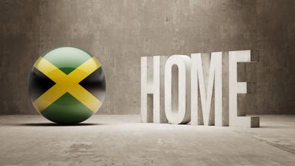 Jamaica. Home  Concept.