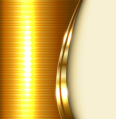 Business background, elegant gold