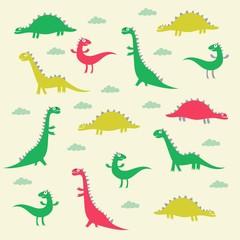 dinosaur pattern design