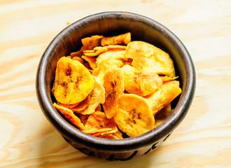 Plantain crisps