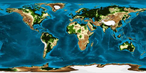 Earth - Bump & Bathymetry