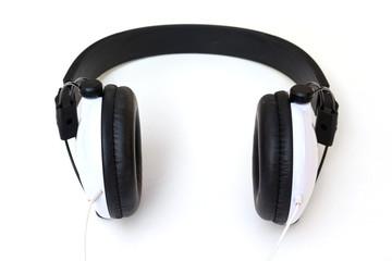 earphone on white background
