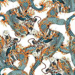 龍のパターン