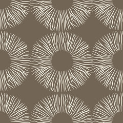 stencil zebra in a bowl vector