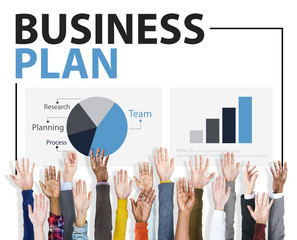 Business Plan Planning Strategy Conference Seminar Concept