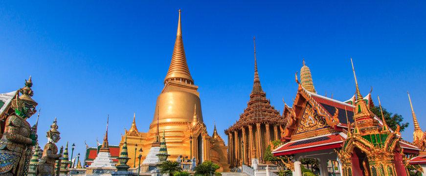 Wat Phra Kaew or Wat Phra Si Rattana Satsadaram in Thailand