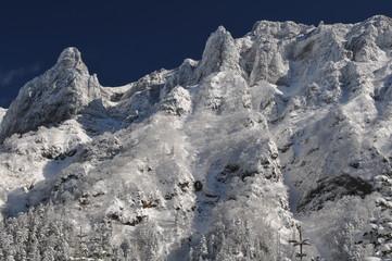 冬の八ヶ岳 横岳