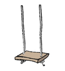 cartoon swing