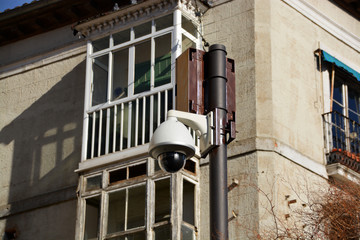 camara de seguridad domotica en las calles de burgos