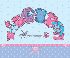 Clothing collection for baby