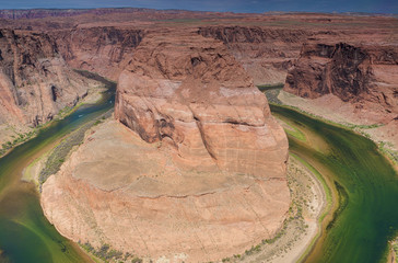 Amazing Horseshoe Bend in Arizona State, USA.