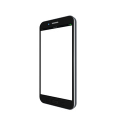 Mobile phone on white background,cell phone illustration