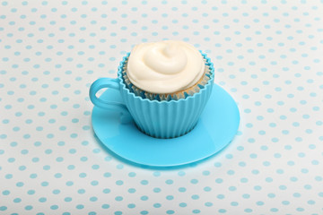 Cupcake  with butter cream