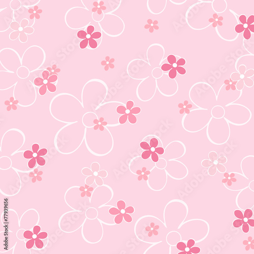 blumenmuster rosa hintergrund stockfotos und lizenzfreie vektoren auf bild 77939656