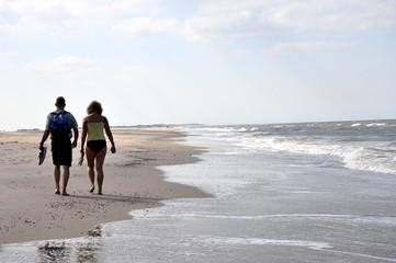Ein Pärchen am Strand
