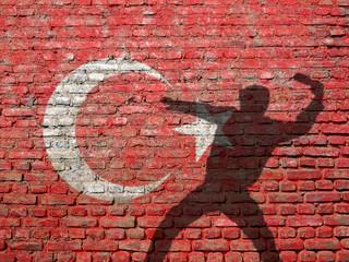 Turkey rioter